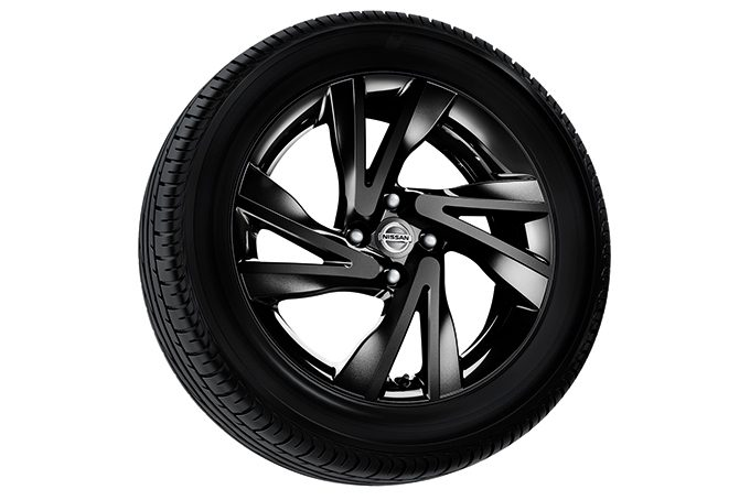 "Nissan Note - Alloy wheel - 16"" arrow alloy wheel tokyo black"