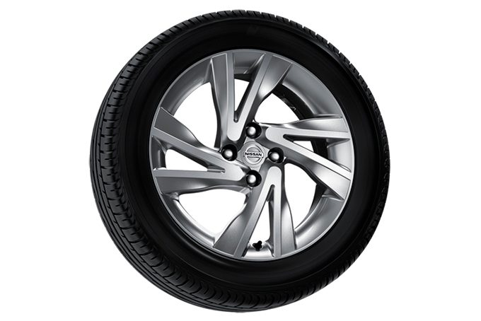 "Nissan Note - Alloy wheel - 16"" arrow alloy wheel silver"