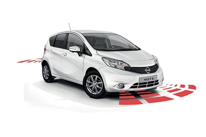 Nissan Note - Safety - Front and rear parking system