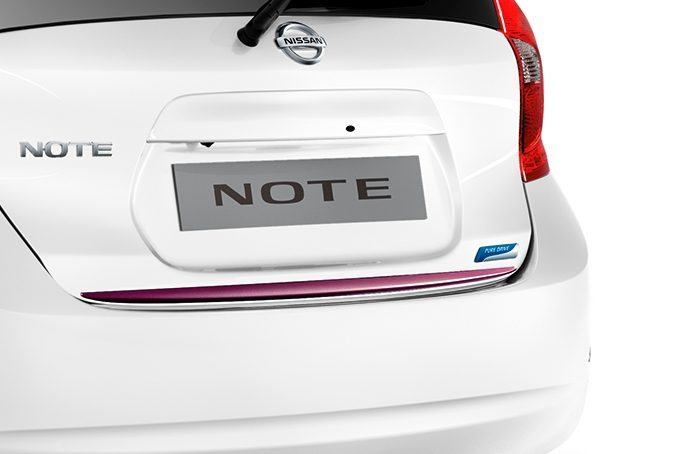 Nissan Note - Premium pack - Trunk lower finisher