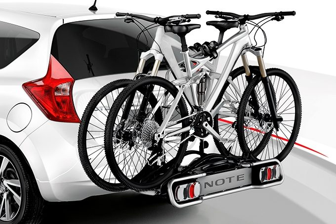 Nissan Note - Transportation - Bike carrier towbar mounted 7 pins 2 bikes