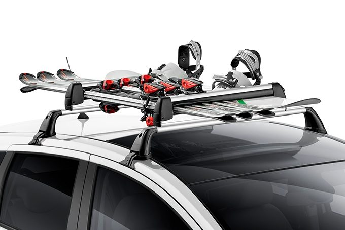 Nissan Note - Transportaion - Ski carrier up to 6 pairs - slideable