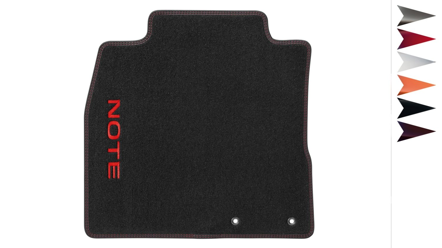 Nissan Note - Nissan design studio - Velours mats detroit red