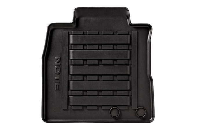 Nissan Note - Interior - Rubber mats