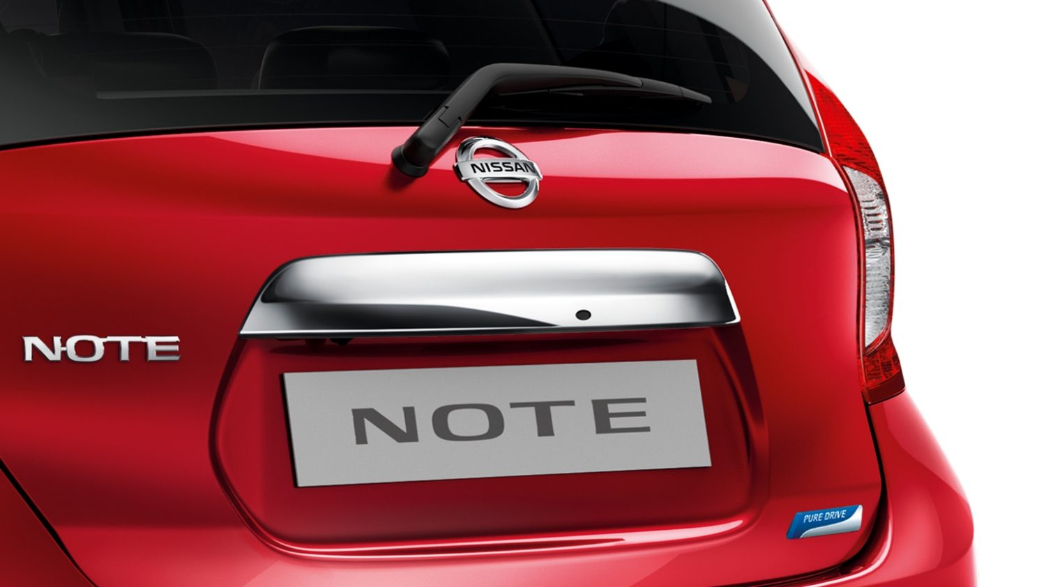 Nissan Note - Nissan design studio - Beijing chrome trunk handle cover