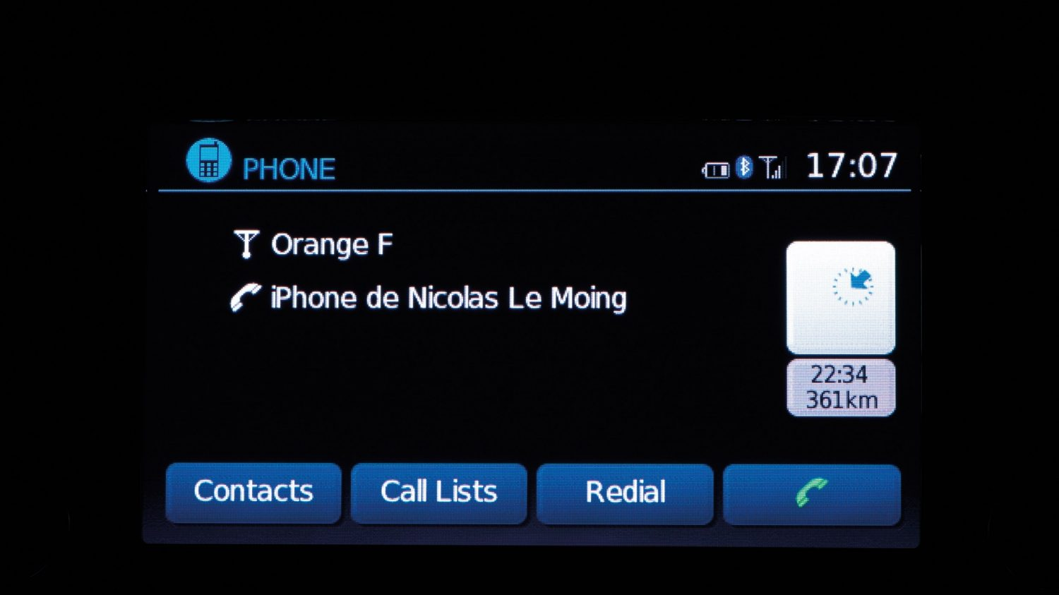 Nissan Note - Hands-Free