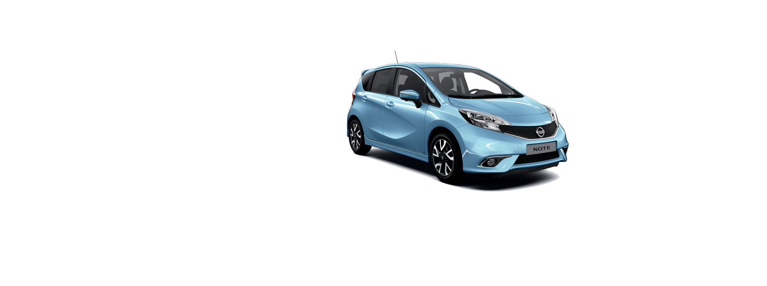 Nissan note - Sonic Blue