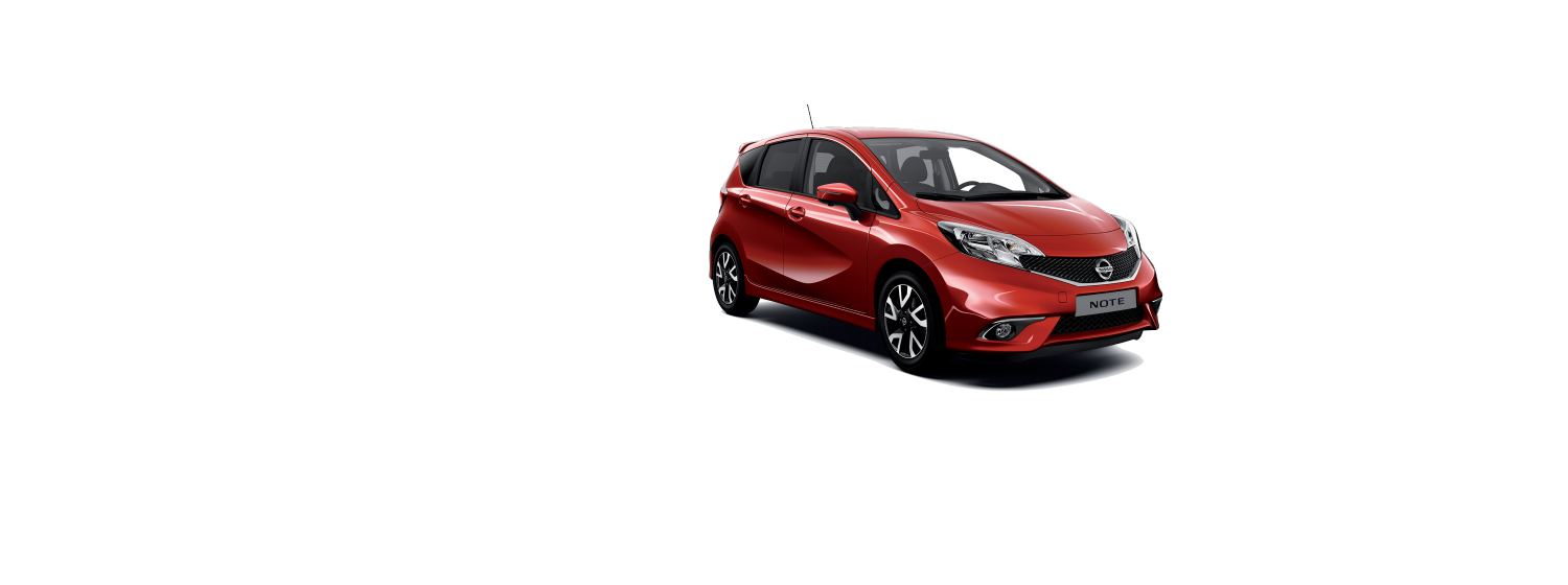 Nissan Note - New Red