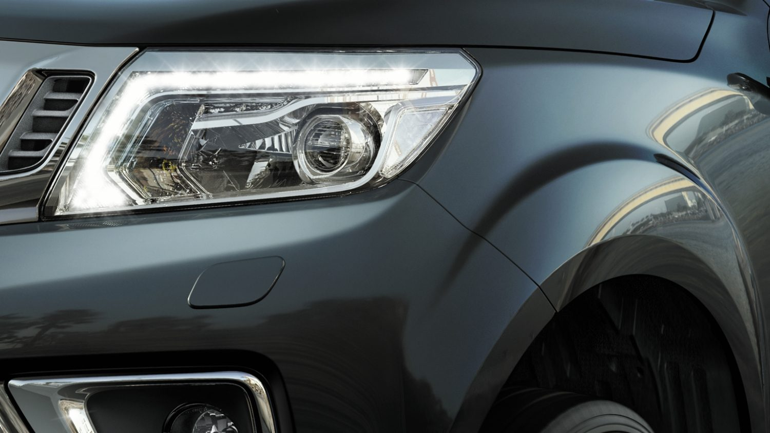 Navara | Nissan | Pick up truck LED headlights