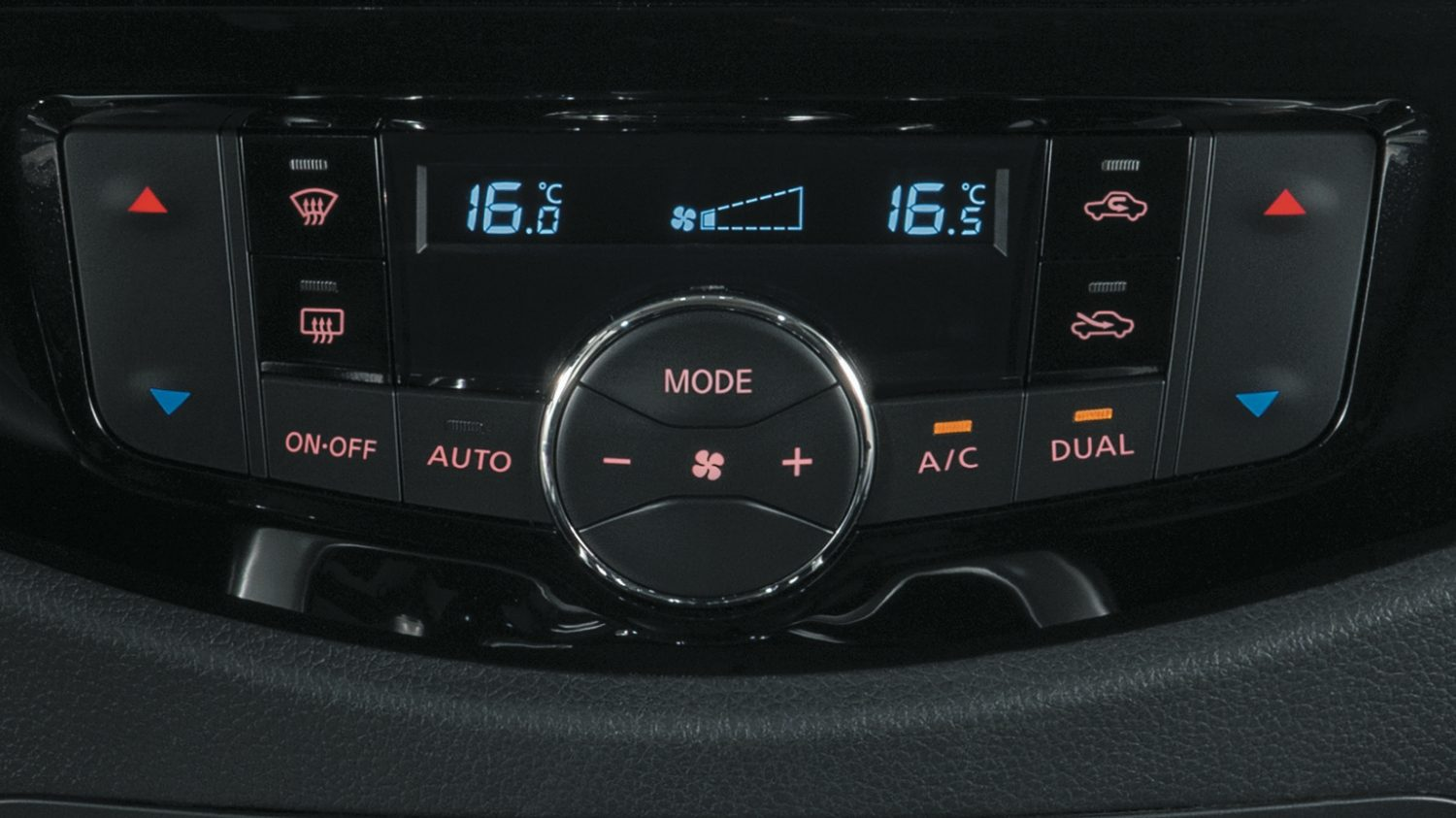 Navara | Nissan | Automatic air conditioning and dual zone climate control