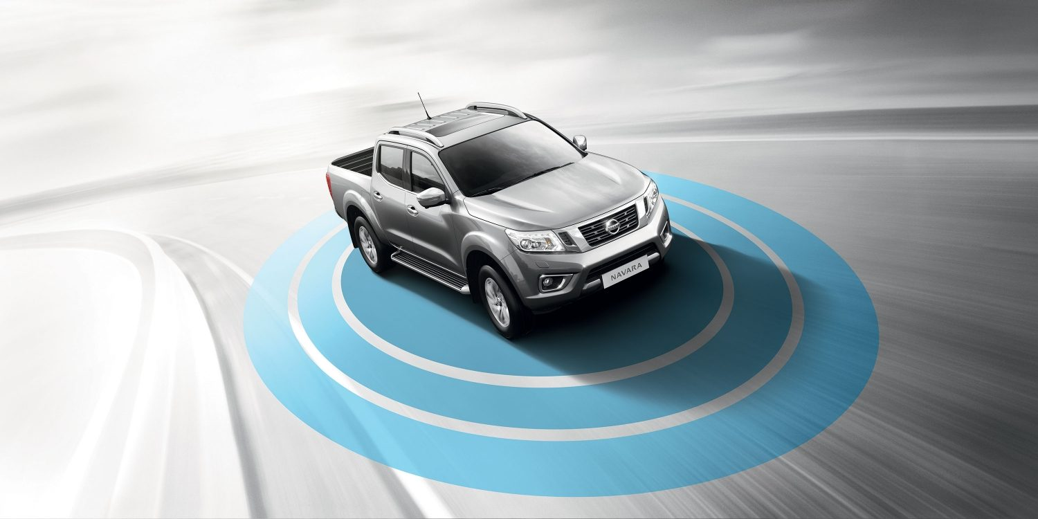Nissan NAVARA – Safety Shield -teknologiat