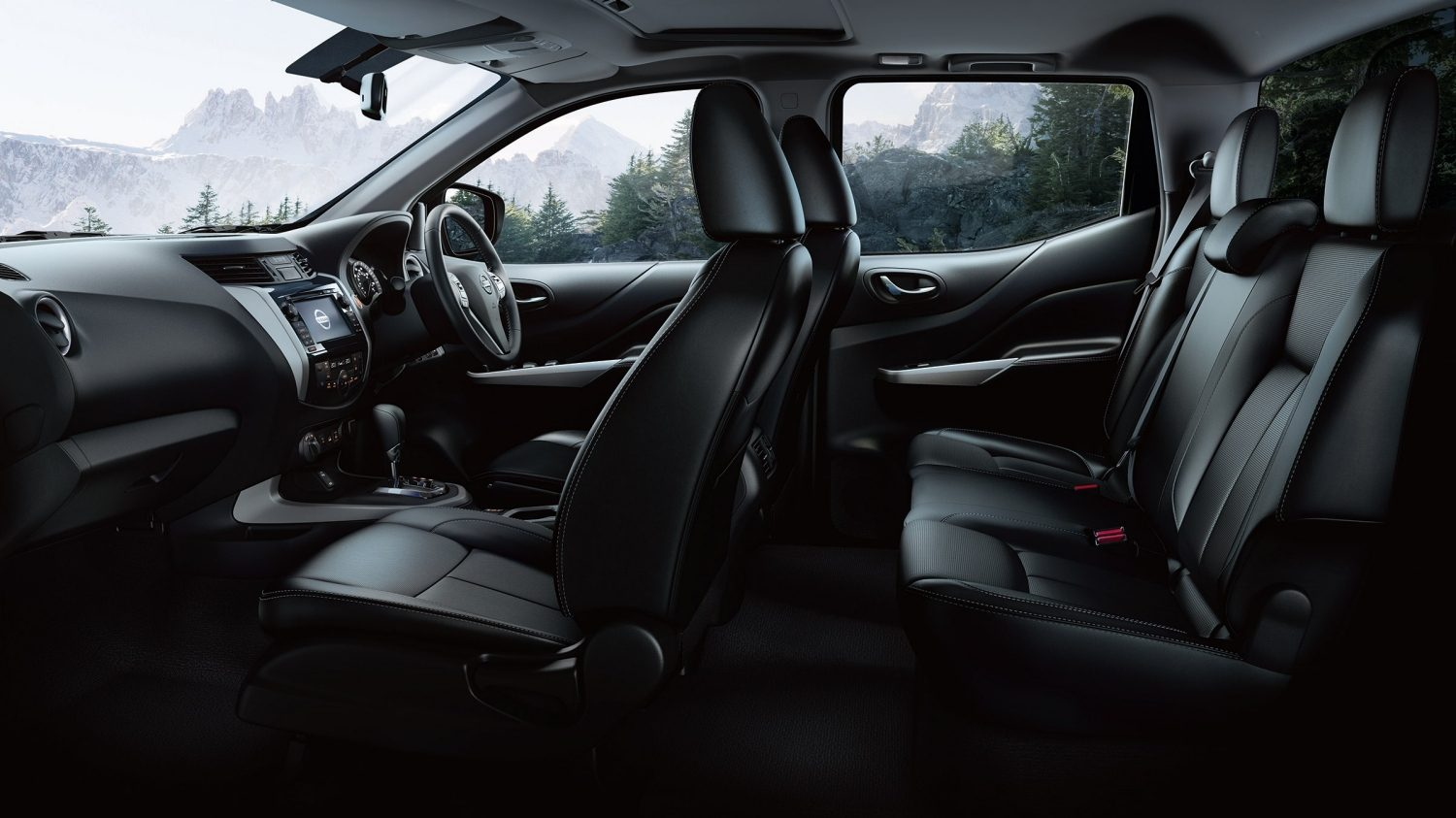Navara special version interior design