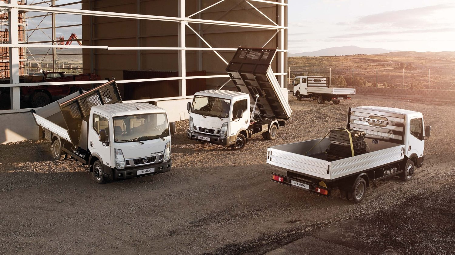 Cabstar | Nissan NT400 | Flatbed trucks being used in industry