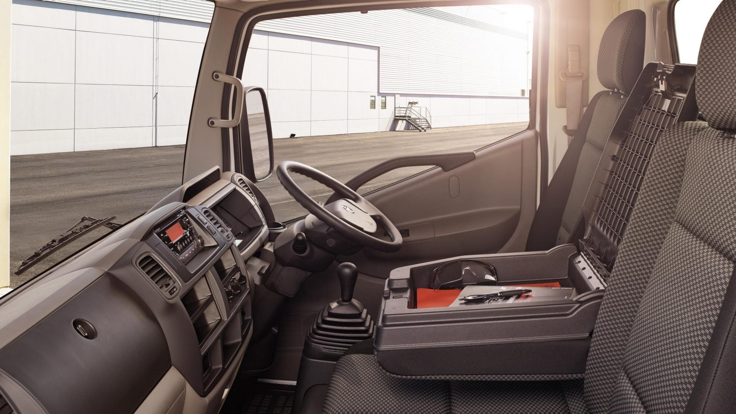Cabstar | Nissan NT400 | Chassis cab interior
