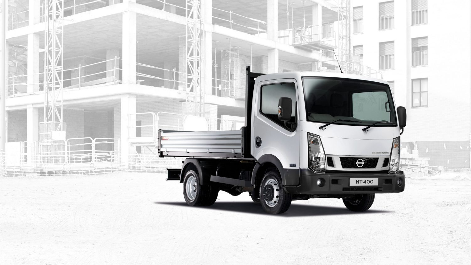 Cabstar| Nissan NT400 | Chassis cab exterior