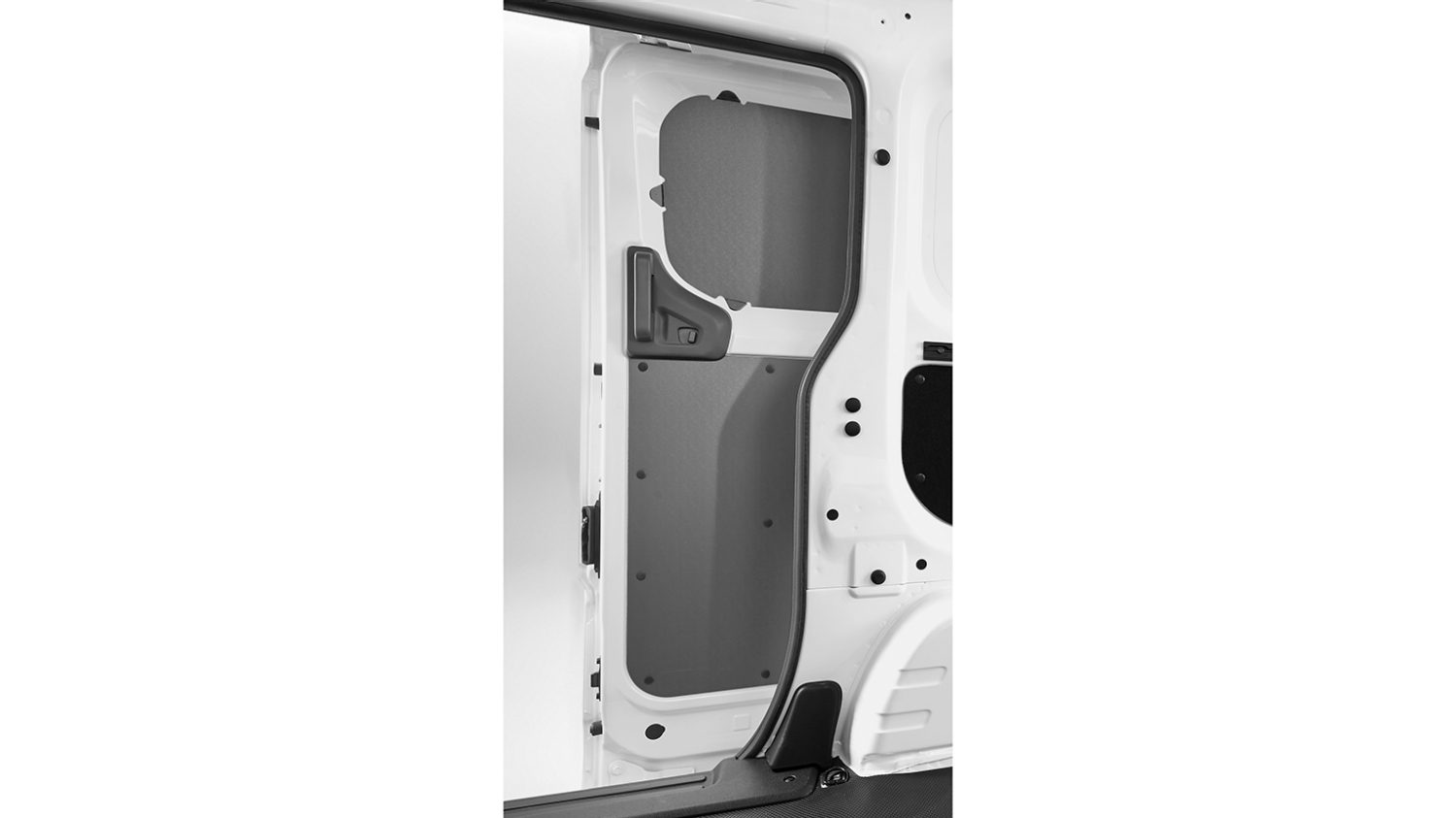 Nissan NV200 - Interior - Sliding door plastic protection (complete protection 4 parts)