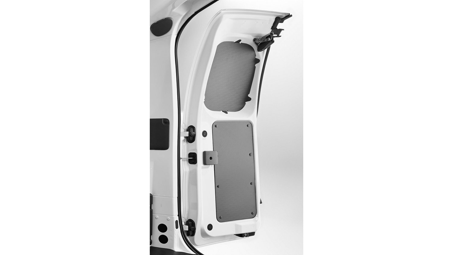 Nissan NV200 - Interior - French door plastic protection (complete protection 4 parts)