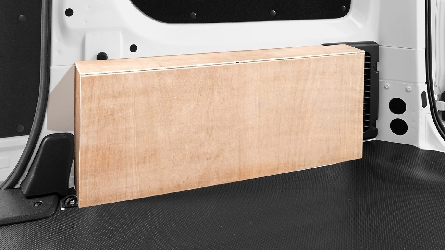 Nissan NV200 - Interior - Wheel arch wood protection boxes