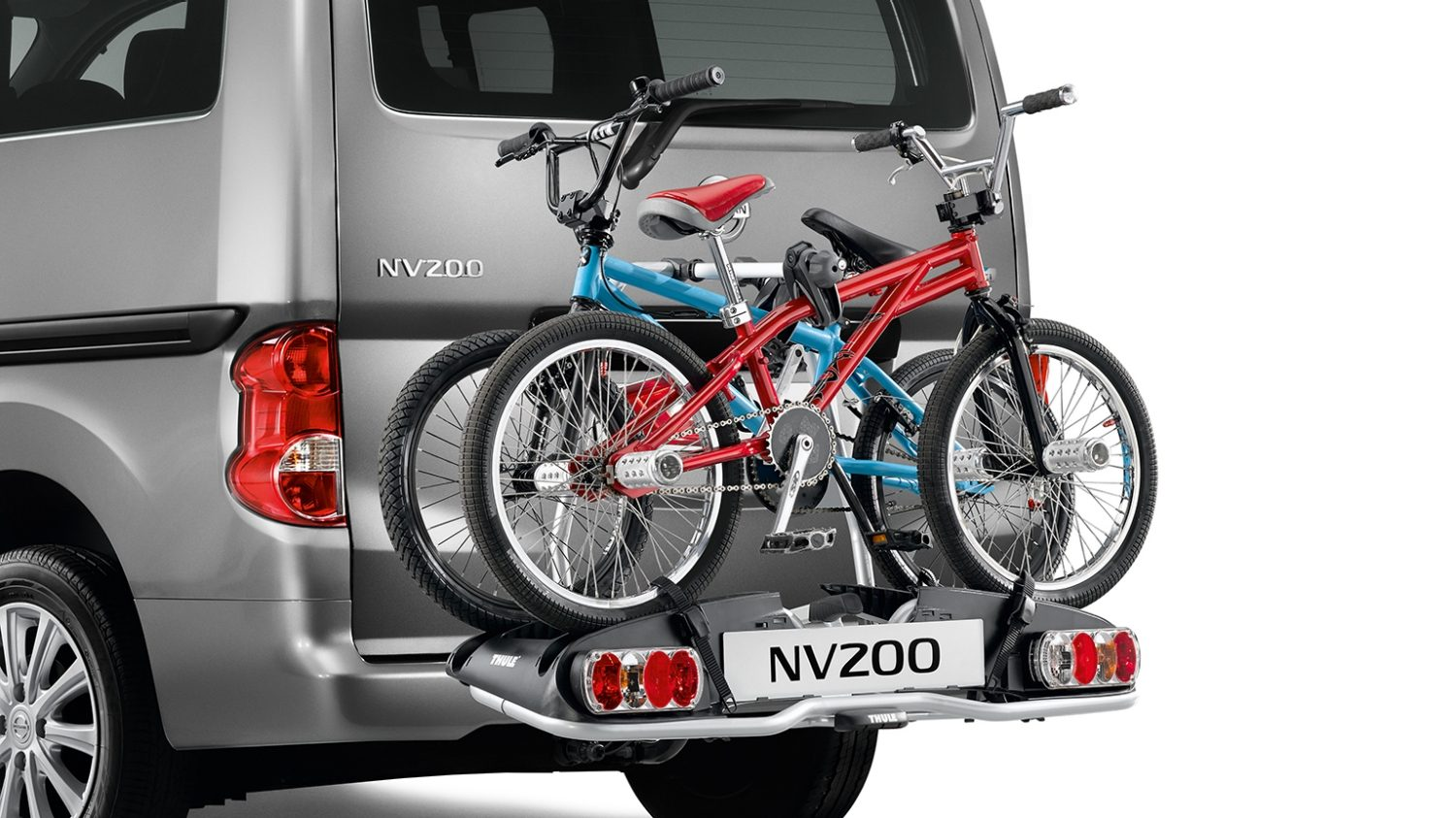 Nissan NV200 - Transportation - Bike carrier towbar mounted 13 pins 2 bikes - Foldable - Euroride