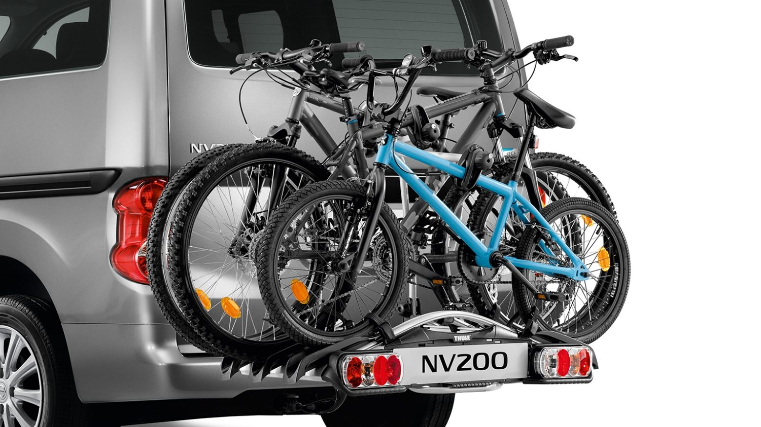 Nissan NV200 - Transportation - Bike carrier Towbar mounted 3 bikes