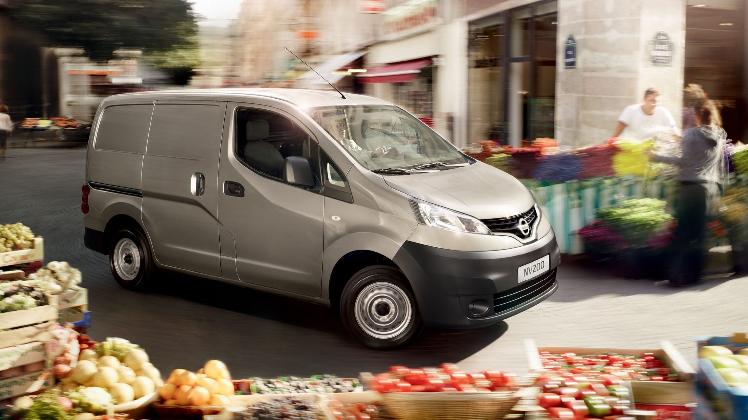 Nissan NV200 - Thuis in de stad