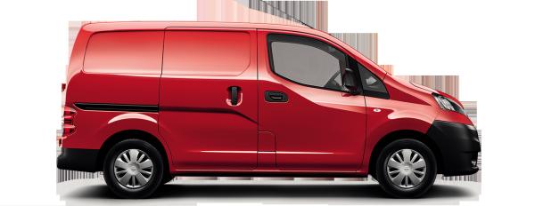 Nissan NV200 Van - Side view