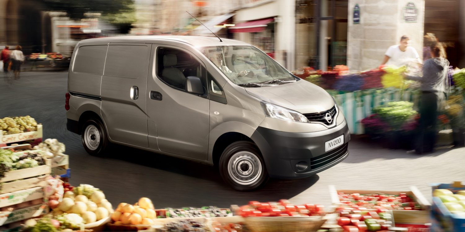 NISSAN NV200 – Bild in Parksituation