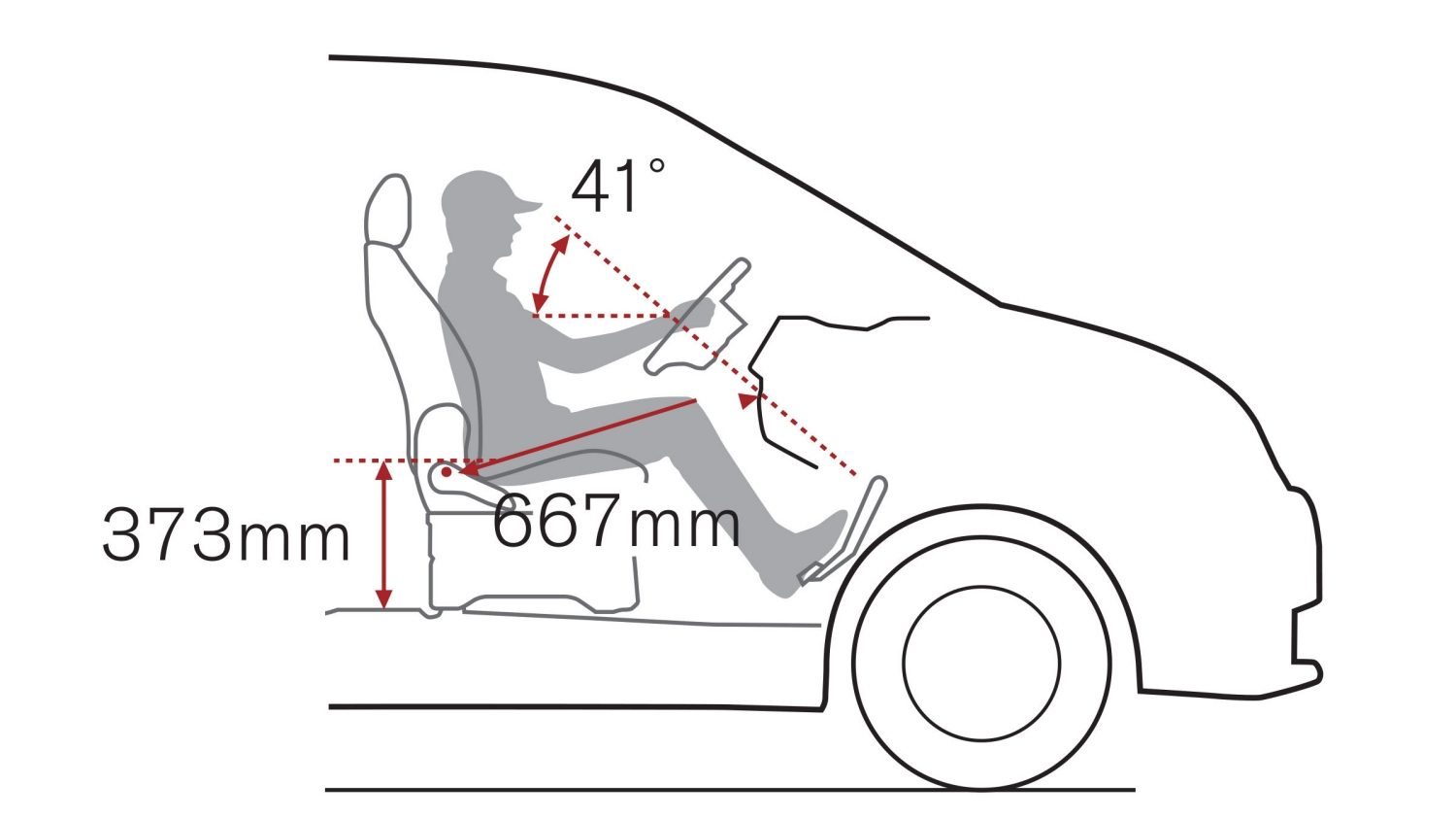 Van | Nissan NV200 | High driving position