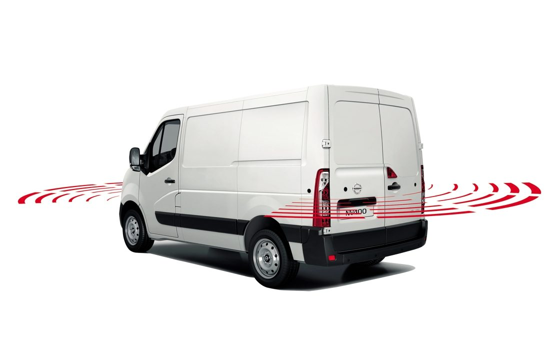 Nissan NV400 - Safety - Front parking system