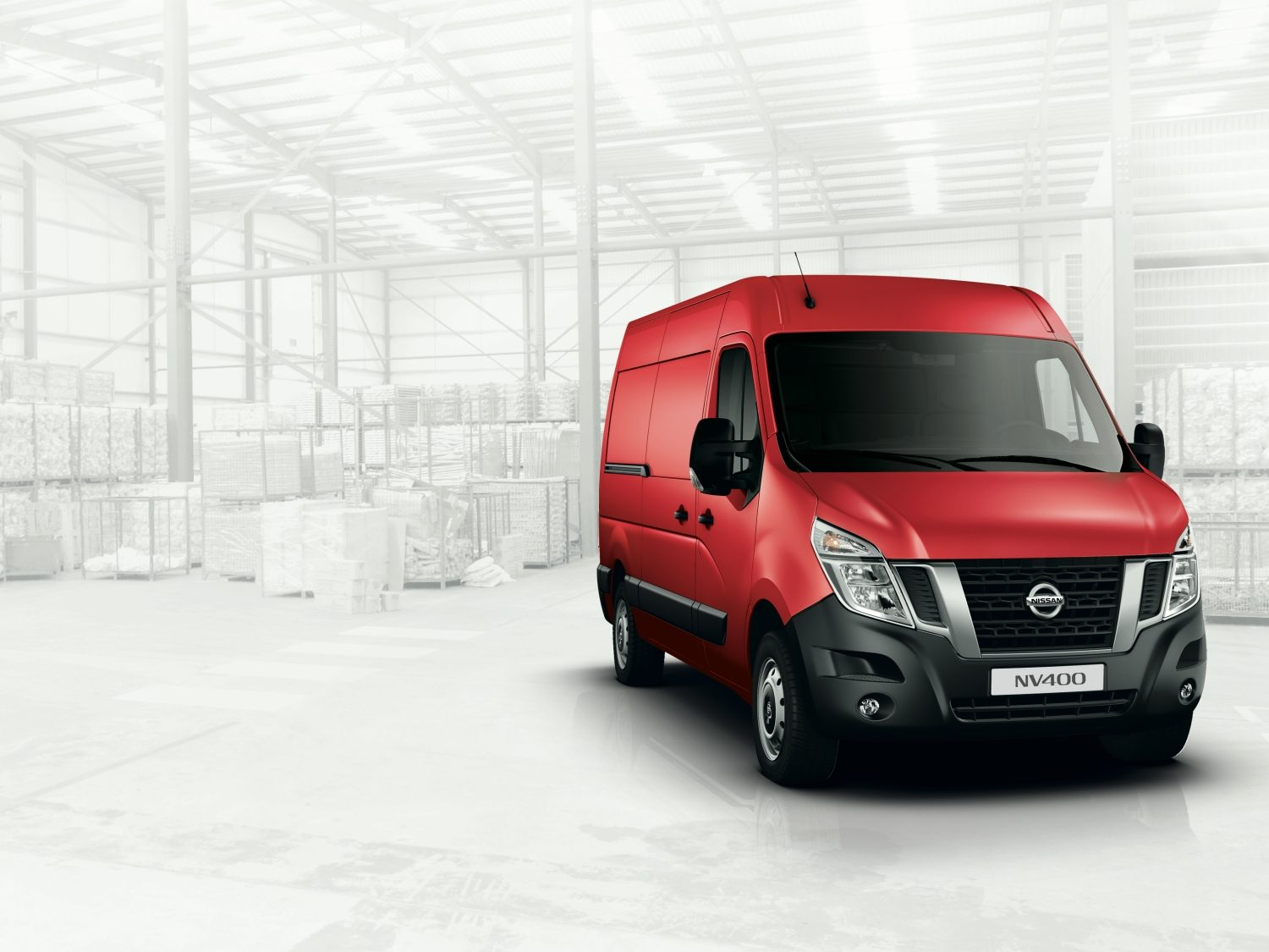Nissan NV400 Red – Forhjulsdrift