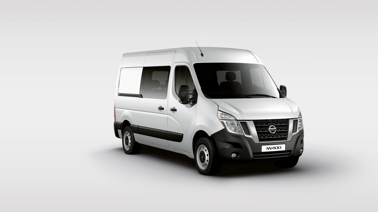 Nissan NV400 Gris - Vista Lateral 7/8