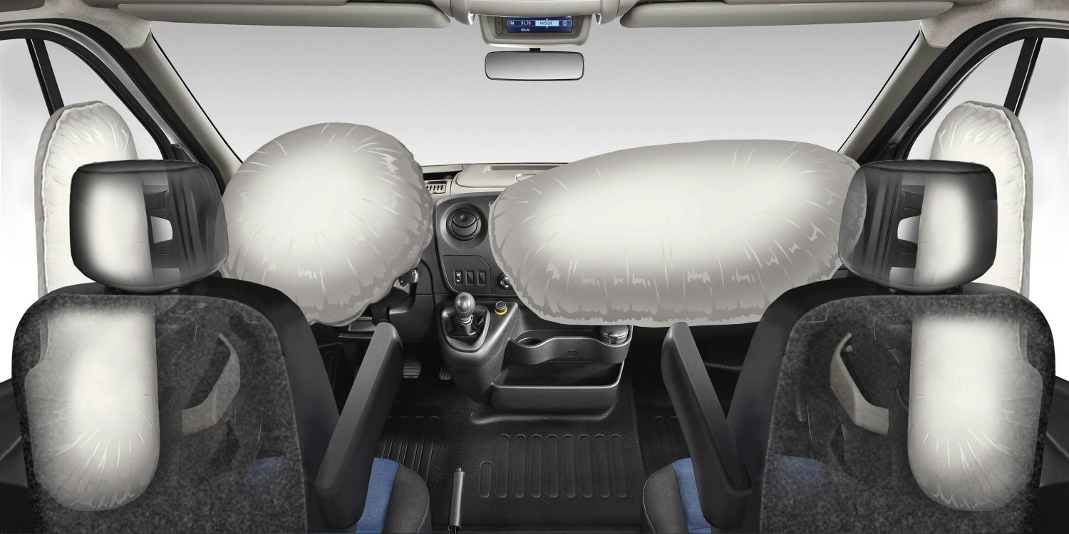 NISSAN NV400 – Airbags