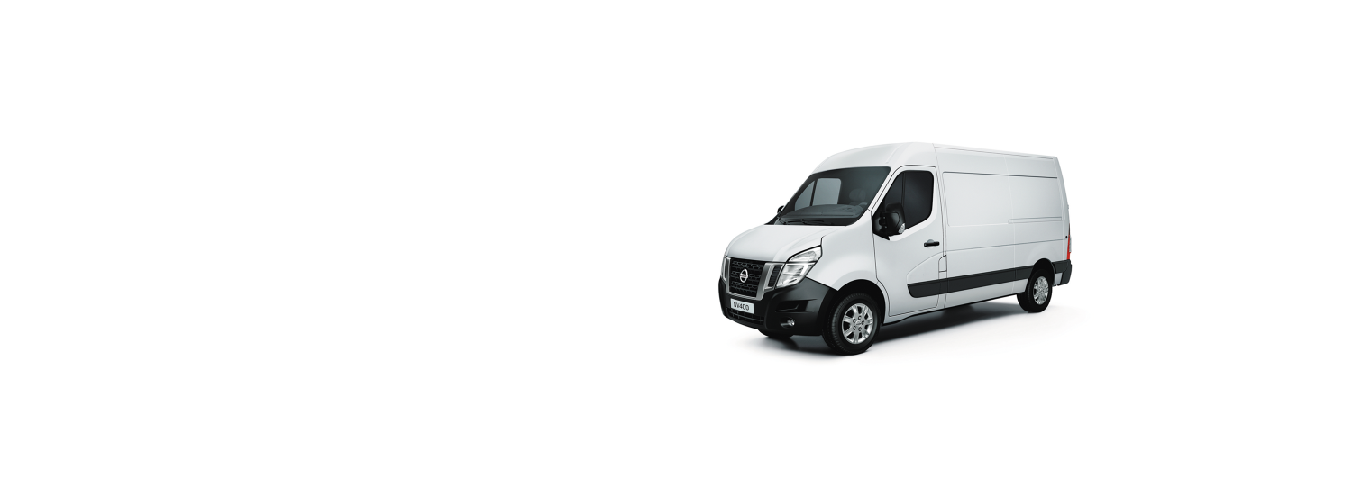 Nissan NV400 - Ice White