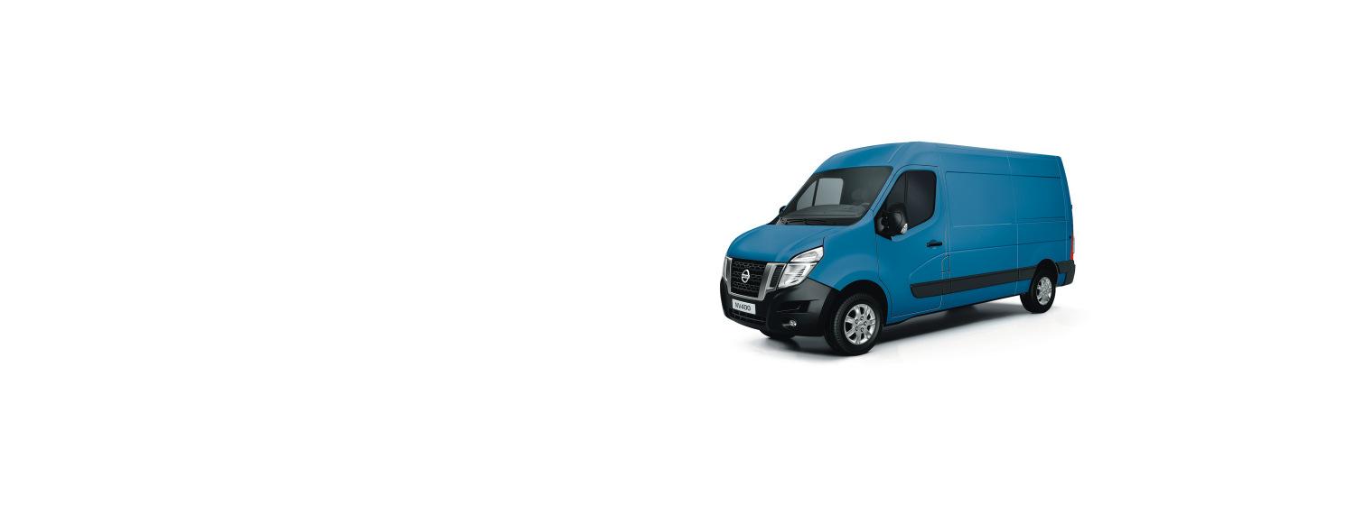 Nissan NV400 - Blue