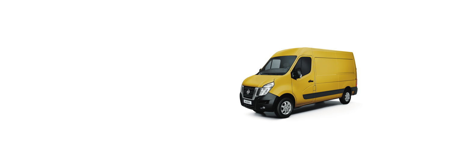 Nissan NV400 - Lemon Yellow