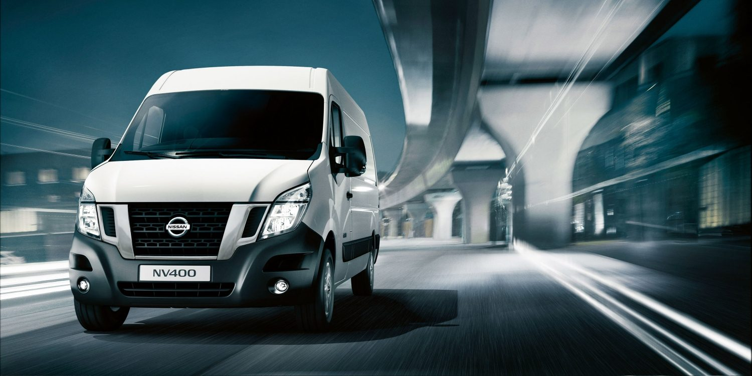 NISSAN NV400 – Frontansicht