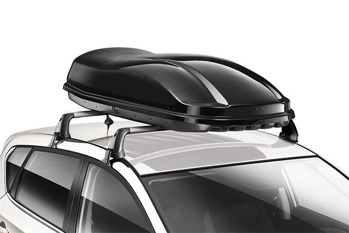 Nissan Pulsar hatchback - Medium Roof box black