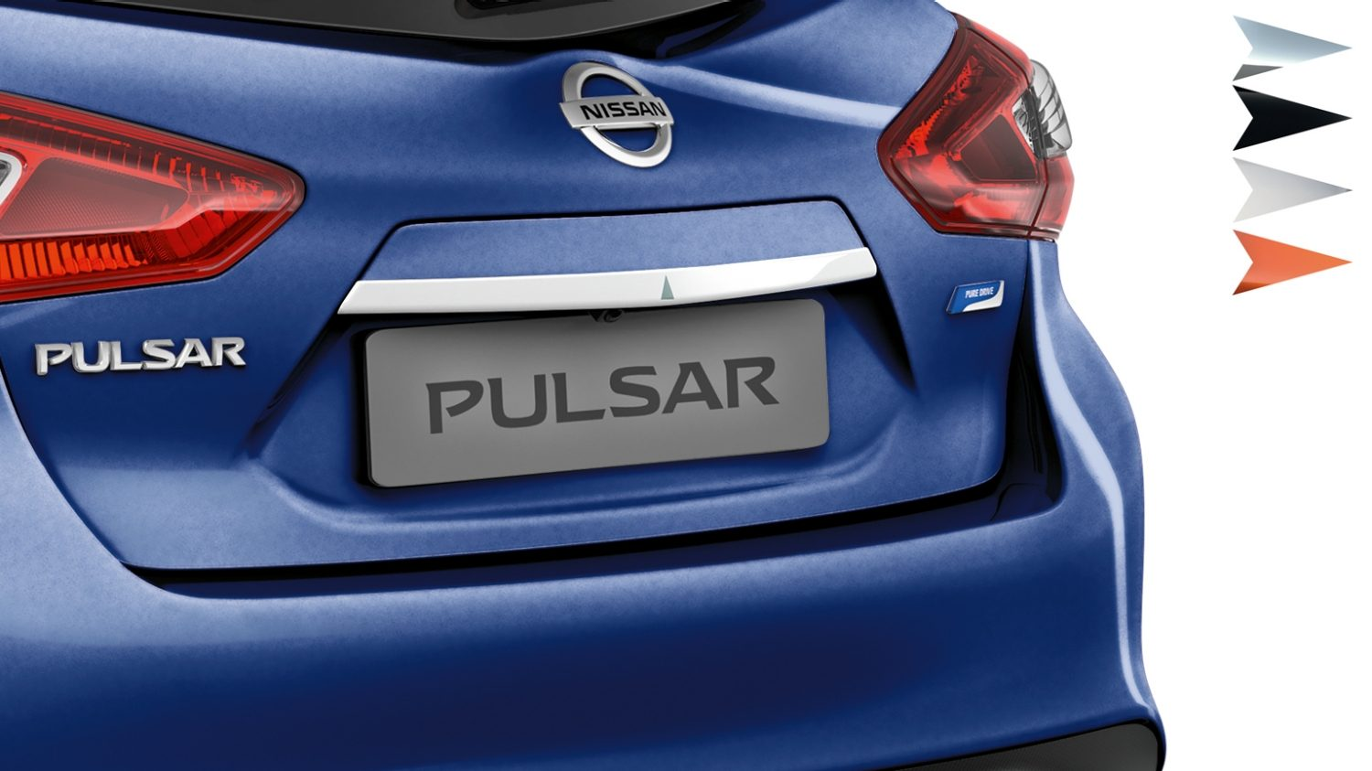 Nissan Pulsar hatchback - Trunks handle london white