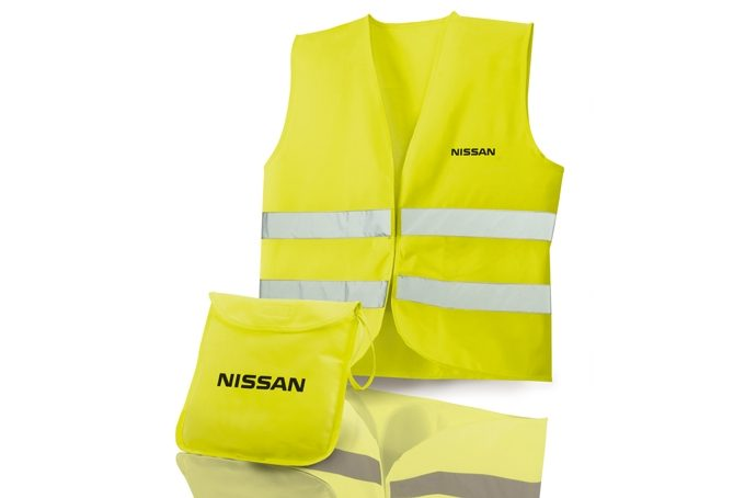 Nissan Pulsar hatchback - Safety jacket