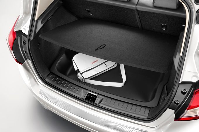 Nissan Pulsar hatchback - Trunk flexy board