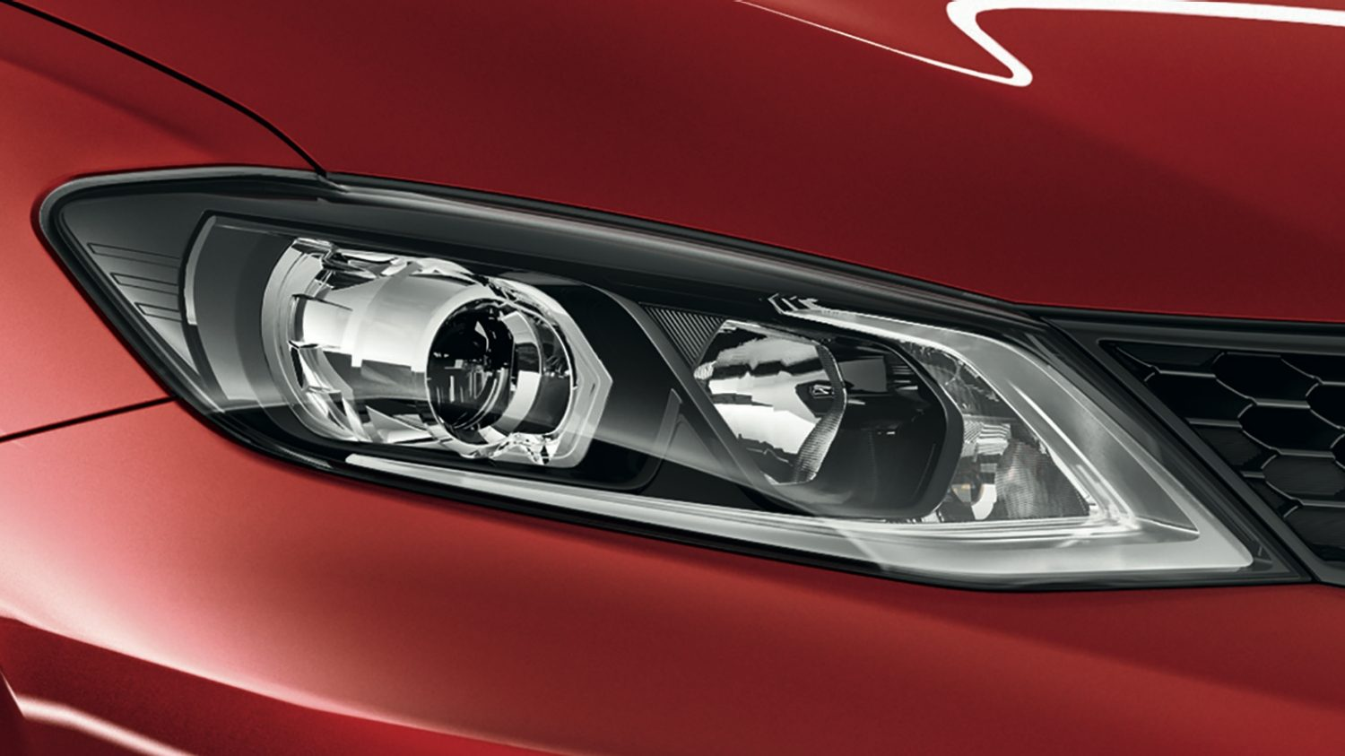 Nissan PULSAR - Burmite Red - Fari LED