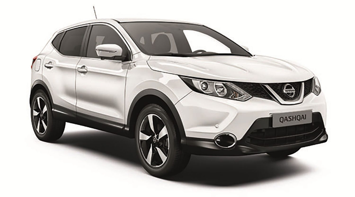 Nissan Qashqai Business+ - 3/4 front view