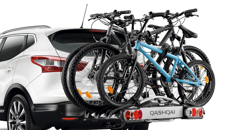 Держатель для велосипеда на тягово-сцепное устройство (на 3 велосипеда) для Nissan QASHQAI