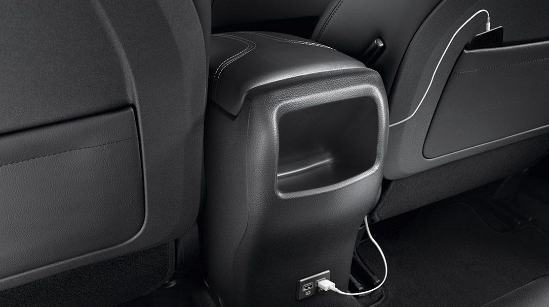 Устройство для быстрой зарядки на задних сиденьях для Nissan QASHQAI
