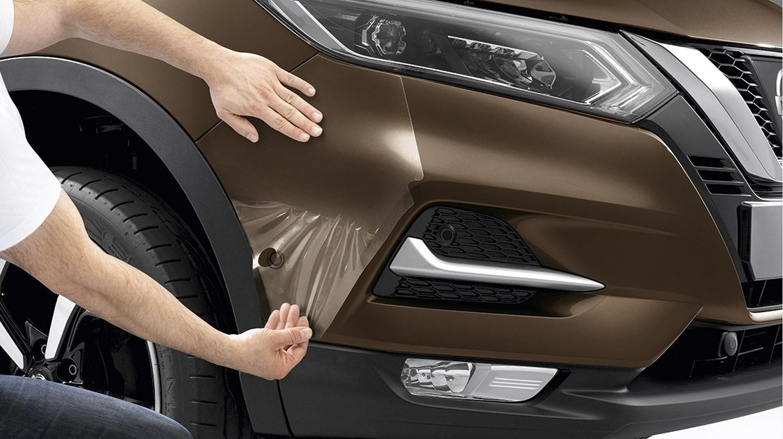 Пленка для защиты бампера от царапин для Nissan QASHQAI