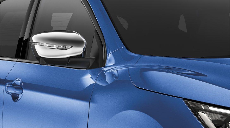 Хромированные накладки на зеркала для Nissan QASHQAI