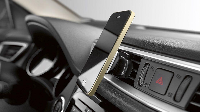 Держатель для смартфона Push Air для Nissan QASHQAI