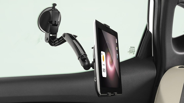 Черный держатель для планшета для Nissan QASHQAI