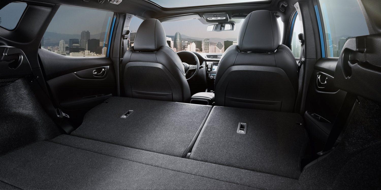 Qashqai seats configuration flat