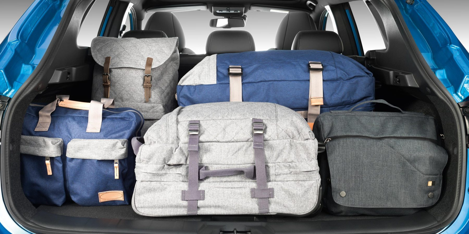 Конфигурация коробки багажника в Nissan QASHQAI